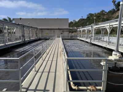 Waste Water Treatment Plant where samples were collected